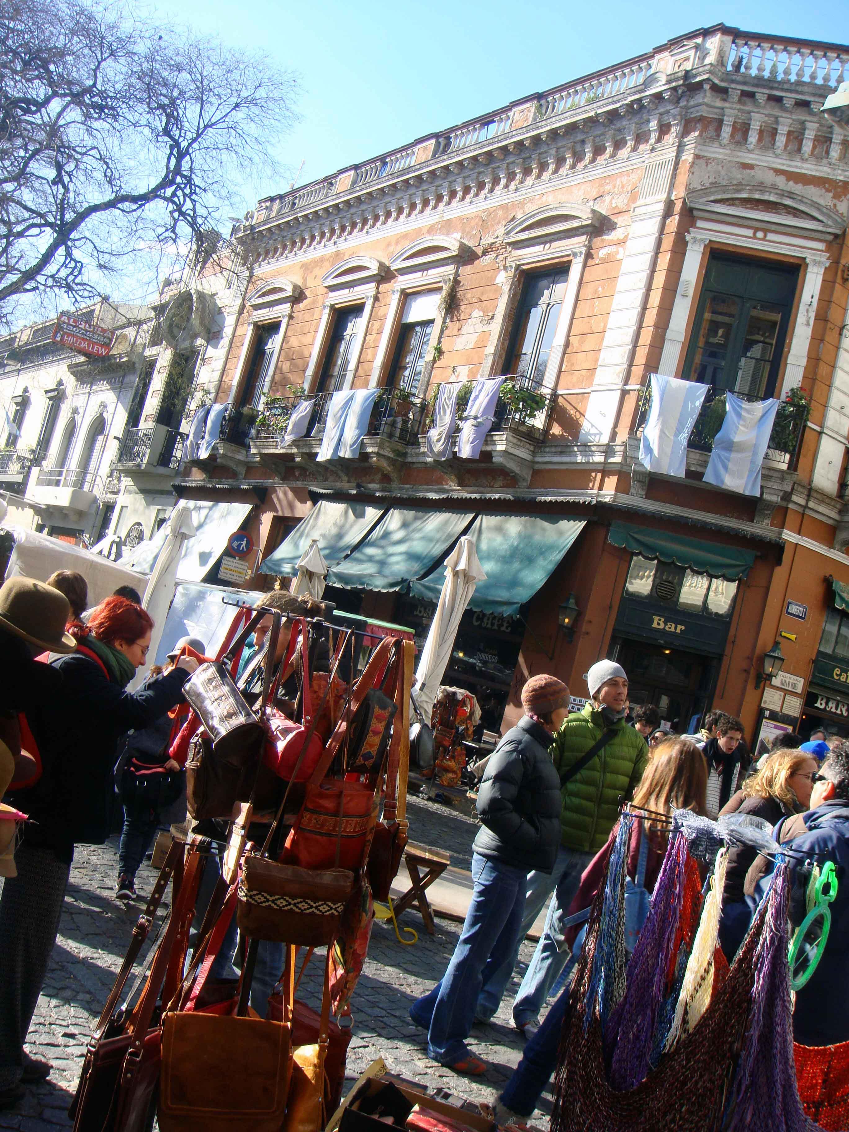 Buenos Aires Feria De San Pedro Telmo 7 Maggio 2011 E
